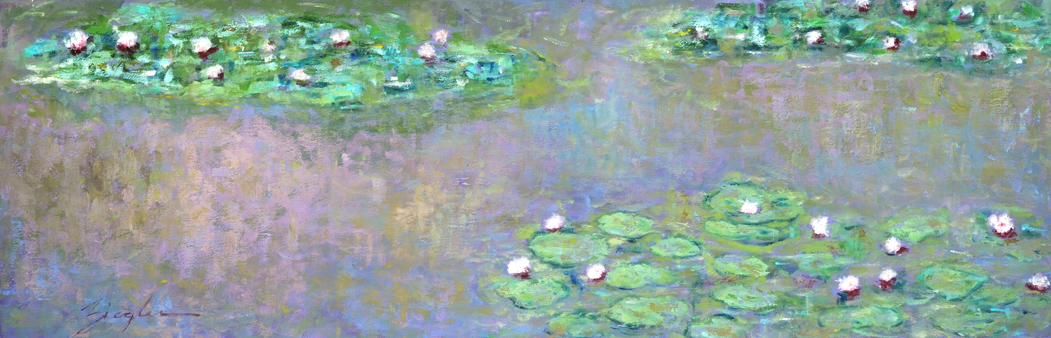 Water Lily Impressions I